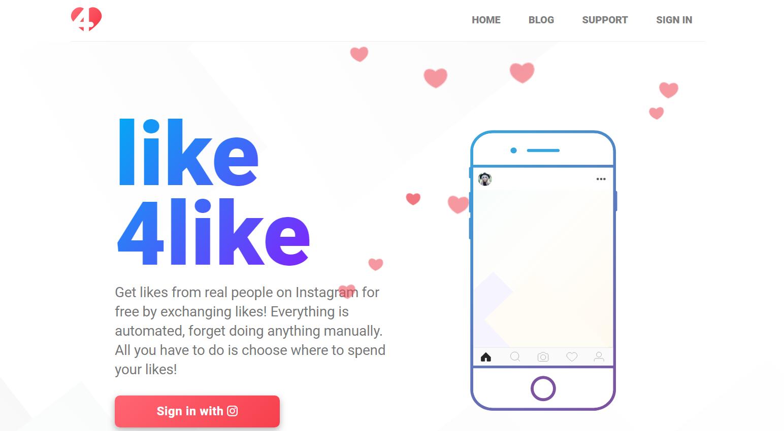 like4like homepage