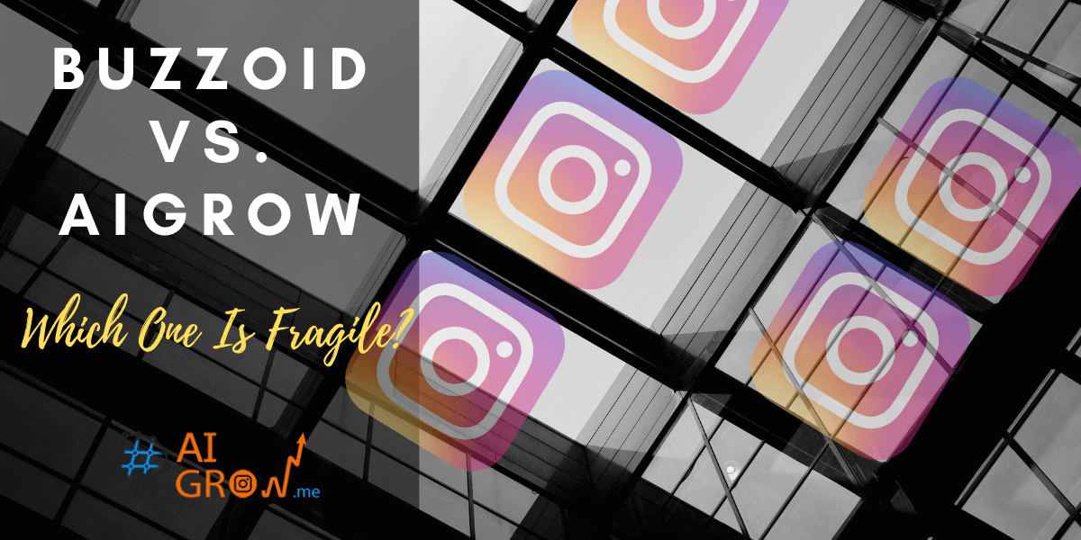 Buzzoid vs. AiGrow – what's better for more real followers on Instagram?