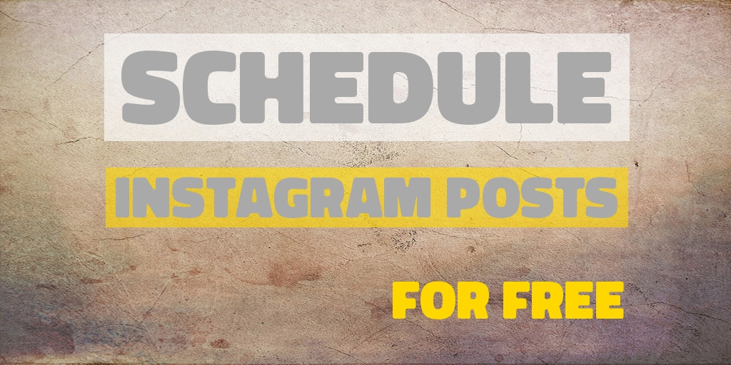 One Simple Way to Schedule Instagram Posts for Free