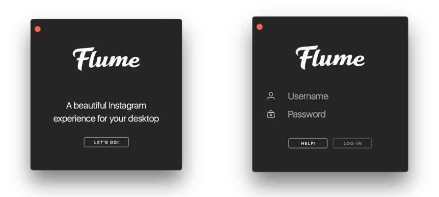 flume add Instagram account