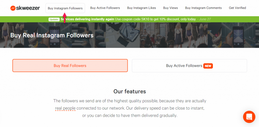 Skweezer vs  AiGrow - what will get your more followers and