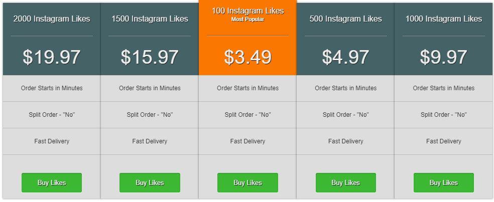 Socialproof buy Instagram likes