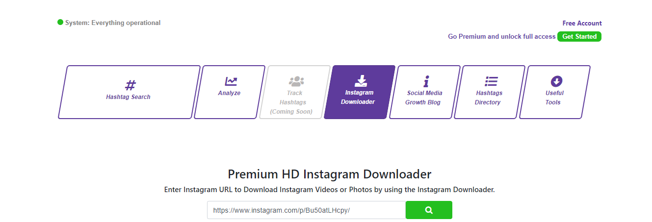 hashtagsforlikes downloader