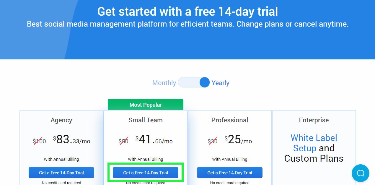 socialpilot 14-day free trial