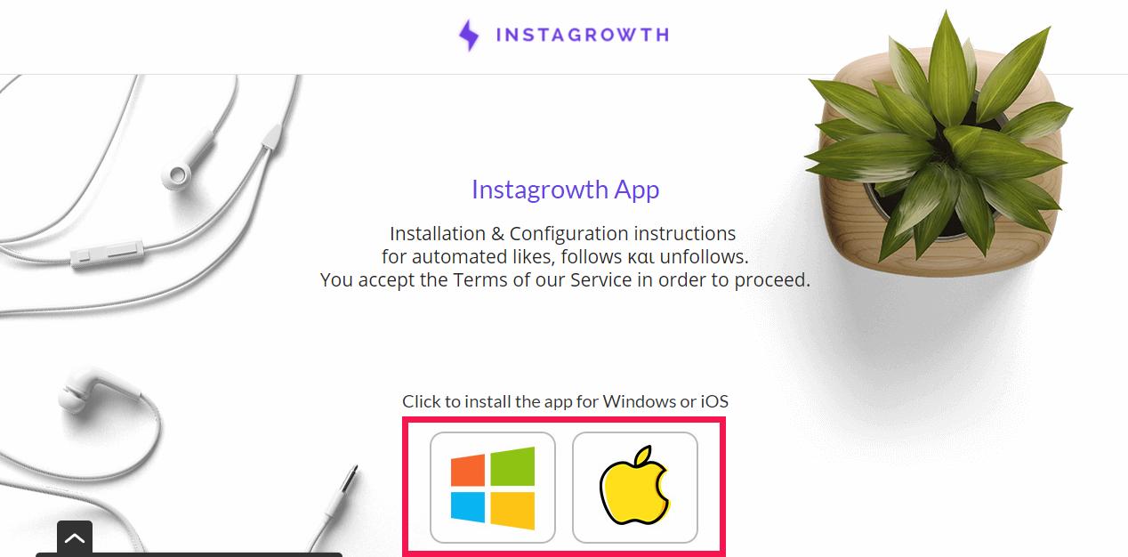 download Instagrowth app
