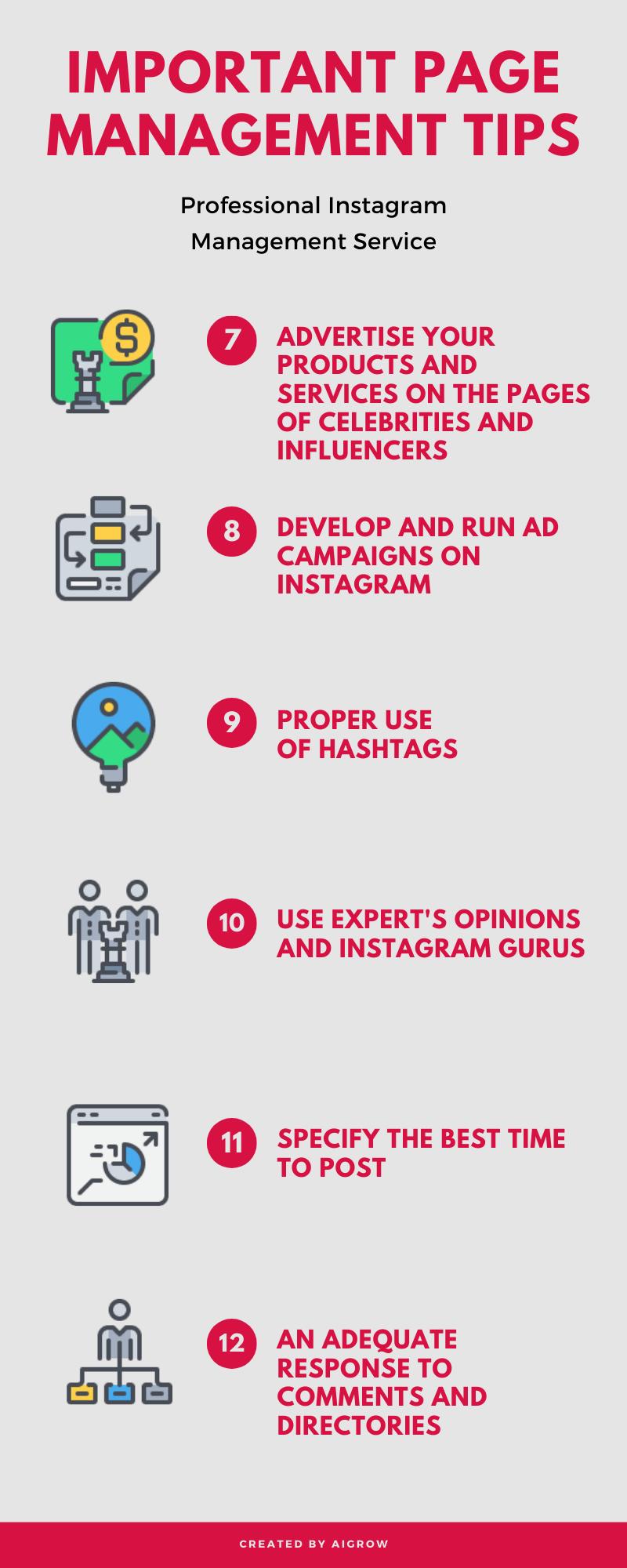 Instagram Management Service