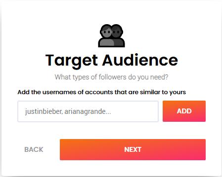 socialflight target