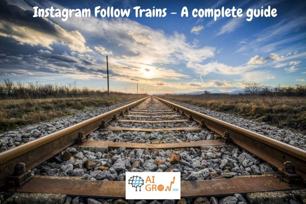 Instagram followers train