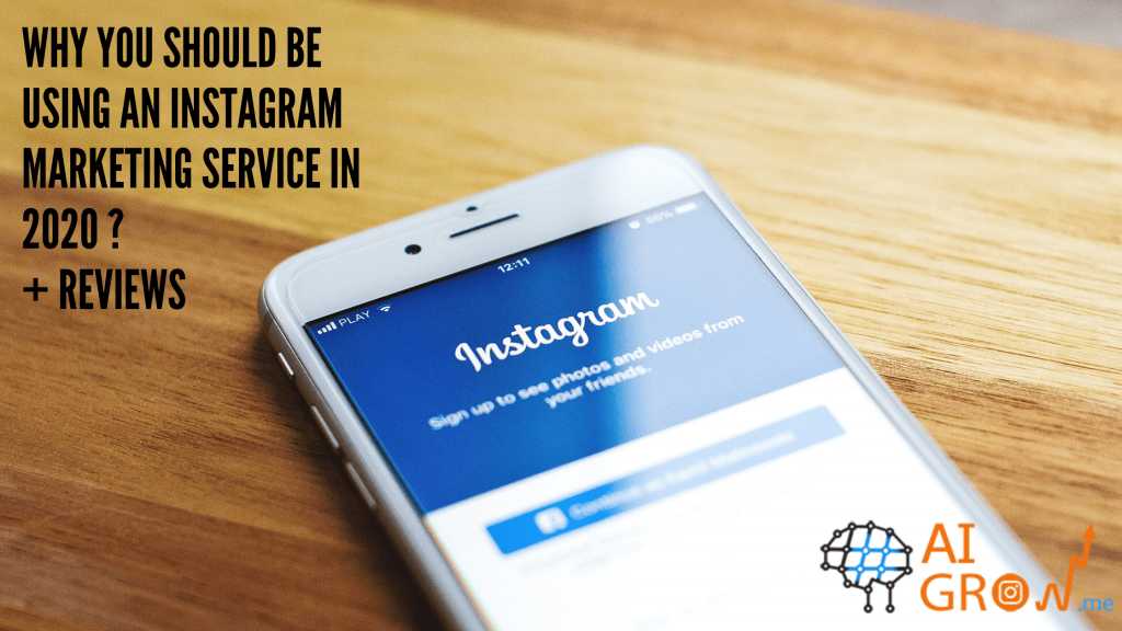 Instagram marketing service 2020