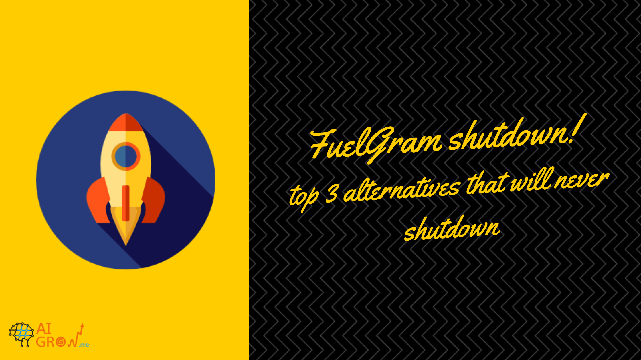 FuelGram Shutdown! Top Alternatives That Will Never Shutdown