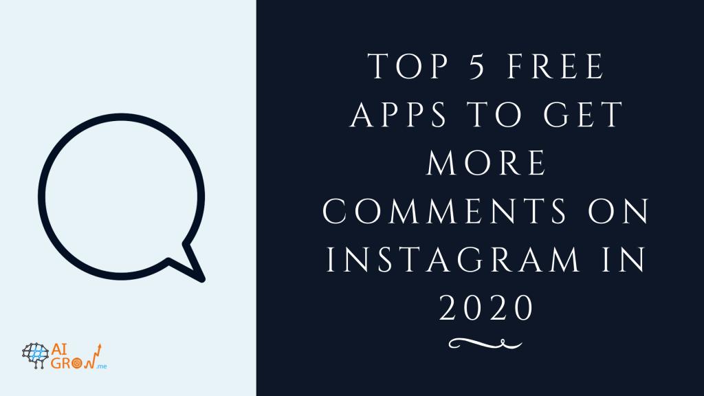 get comments on Instagram app