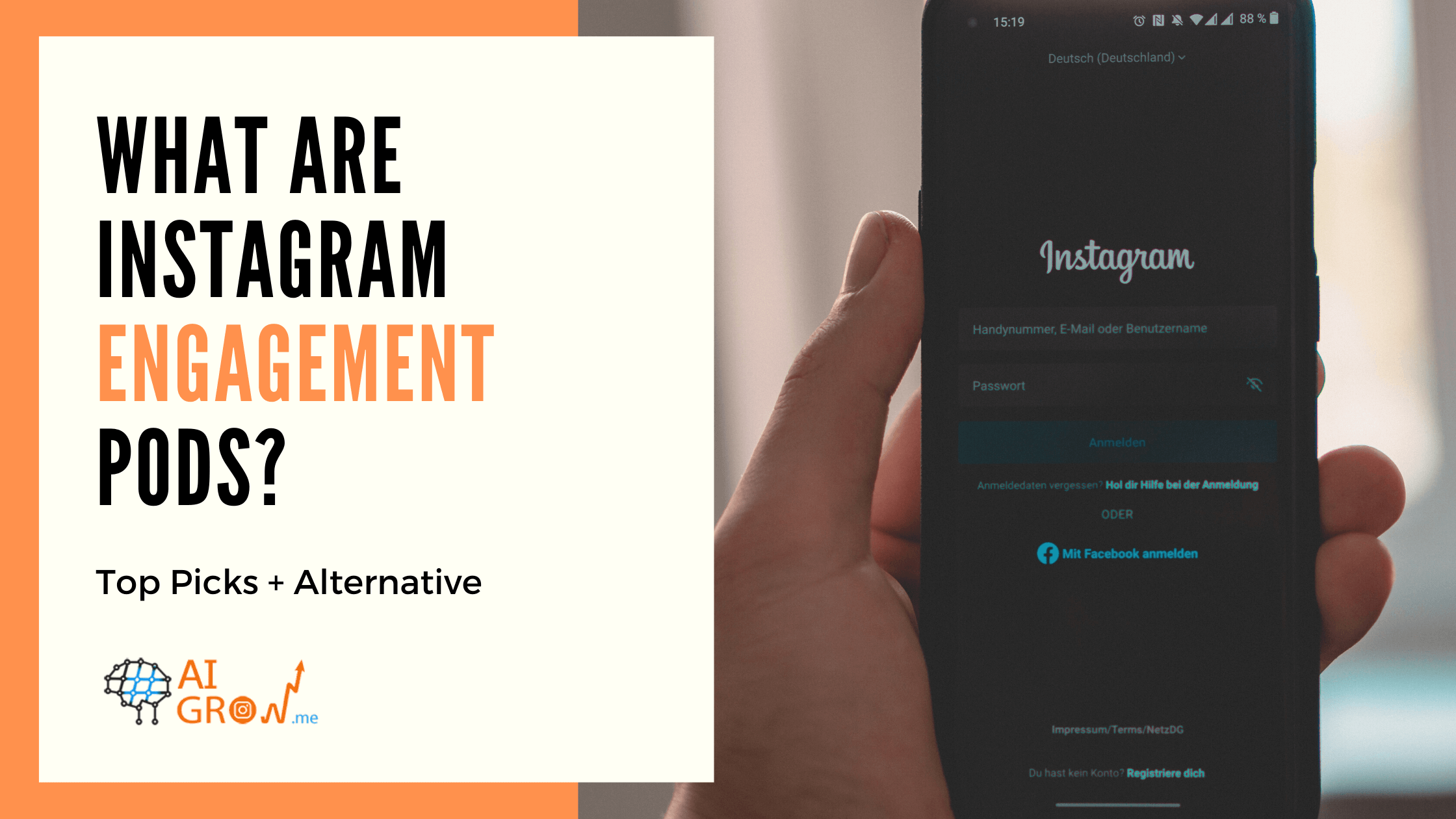 What are Instagram Engagement Pods? Top Picks + Alternative