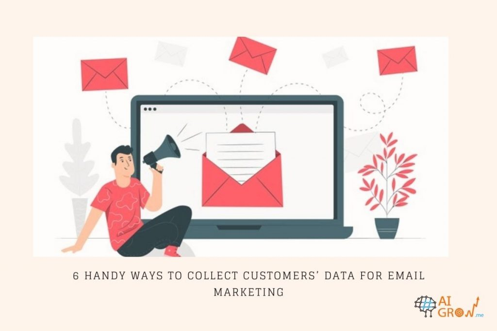 collect data for email marketing