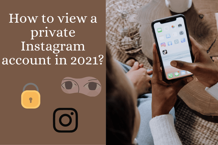 How to view a private Instagram account in 2021?