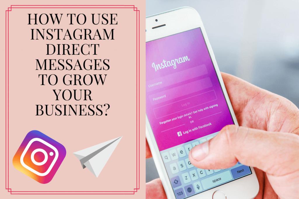 Instagram direct message