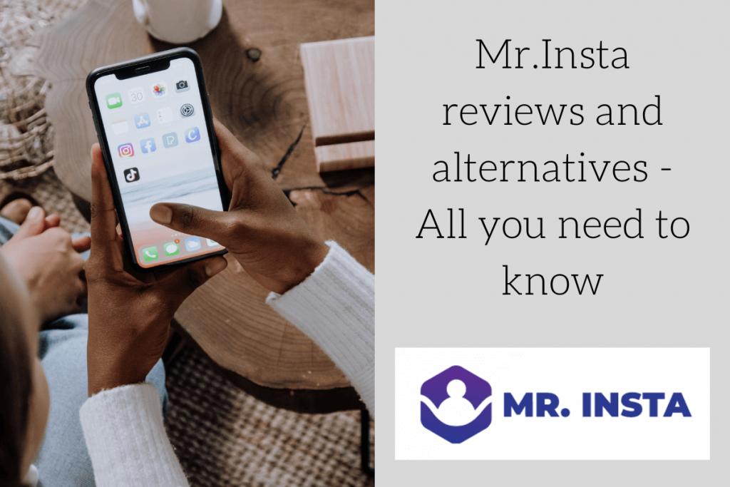 Mr.Insta reviews and alternatives