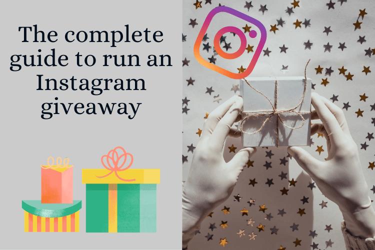 Instagram giveaway guide