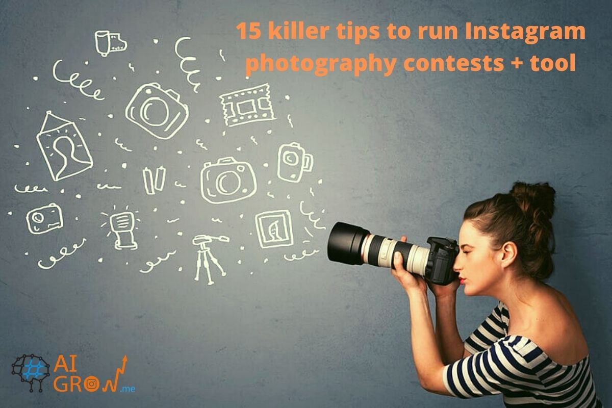 15 killer tips to run an Instagram photography contests + tool