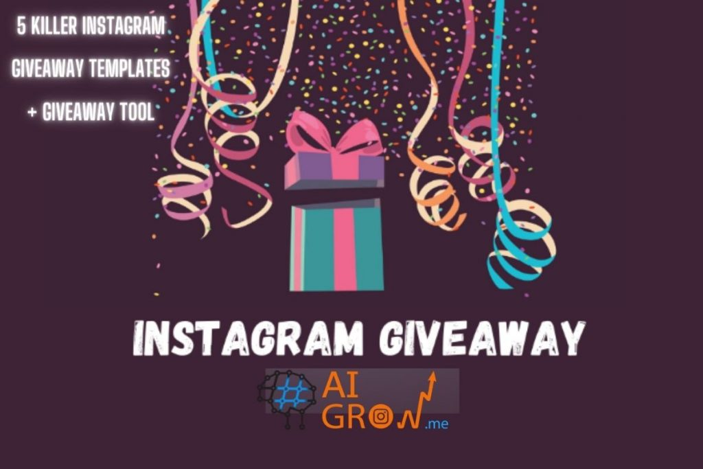5 Killer Instagram giveaway templates + giveaway tool
