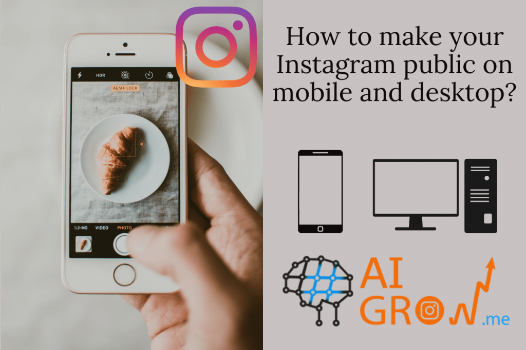 How to make your Instagram public on mobile and desktop